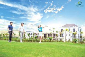 Biệt thự nghỉ dưỡng West Lakes Golf & Villas – Đô thị sân golf đẳng cấp tại Long An