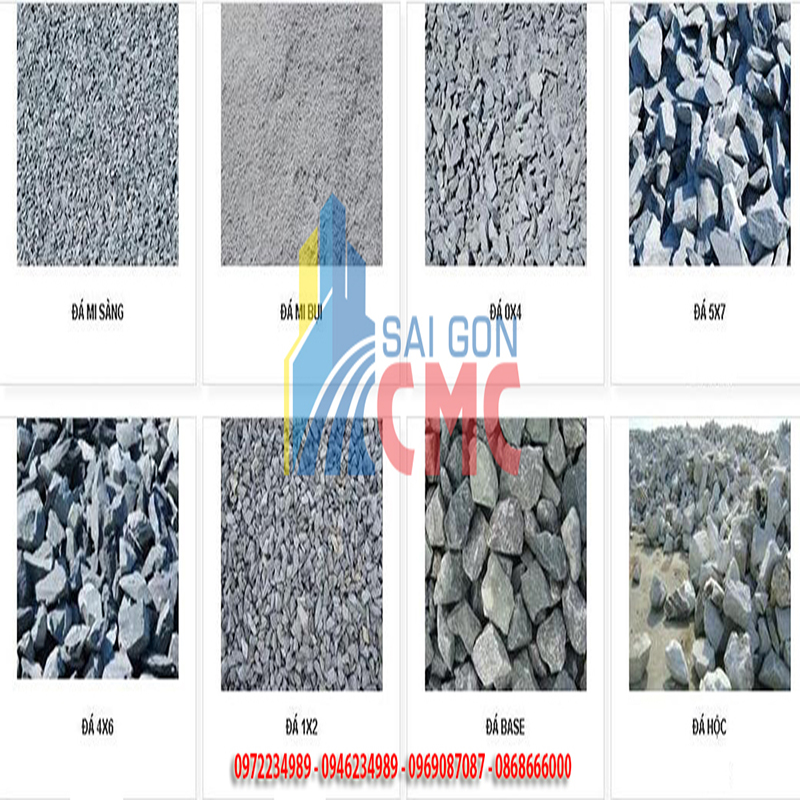 Giá đá xây dựng chất lượng