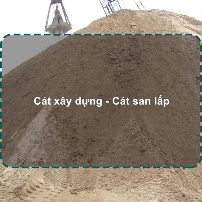 Giá cát san lấp chất lượng