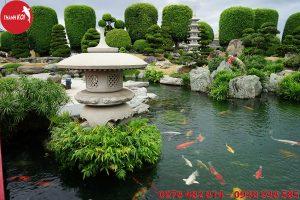 Thiết kế hồ cá koi - Non Bộ Thanh Sơn